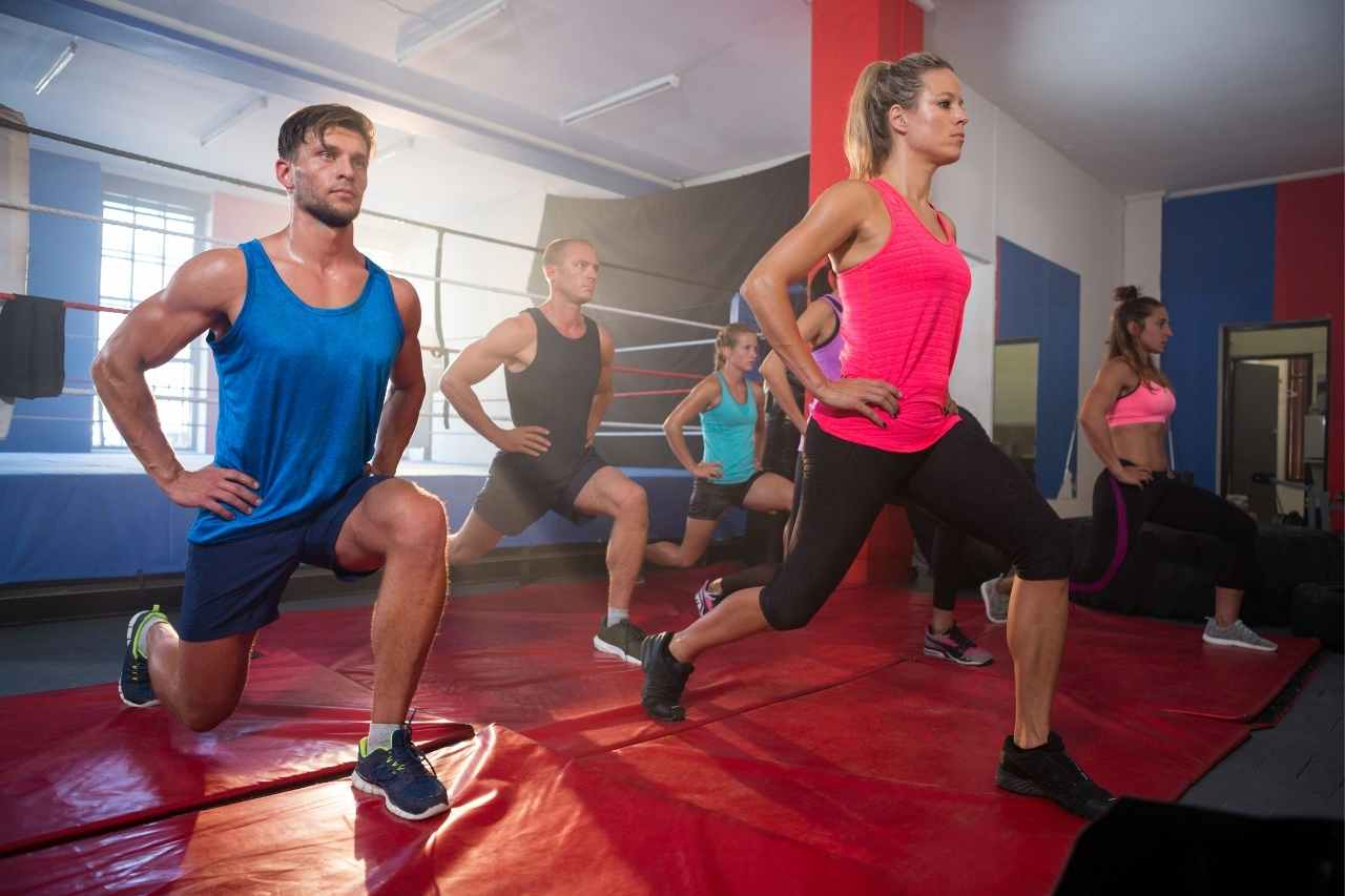 Benefits of doing lunges